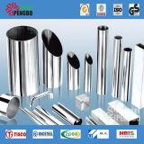 Conduttura dell'acciaio inossidabile di Materails Ss201/301/304/316 dell'edilizia