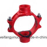 China-Fabrik-duktiles Eisen-Grooved mechanisches Kreuz für Feuerbekämpfung FM/UL/Ce