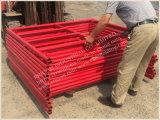 In het groot Delen van de Steiger van het Frame van H, Ladder/H en de Steiger van het Frame van de Deur, het Type van Ladder van de Steiger