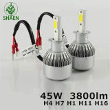Neuer PFEILER LED LED-Lightting C6 H4 12V 24V H8 H9 H11 Auto-Scheinwerfer