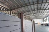 Деревянное пластичное составное хорошее качество WPC ограждая крышку столба