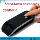 Novo! banco Charger de 3000mAh Screen Touch Power para Promotion Ep-036