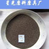 Granos redondos del granate natural usados como abrasivo
