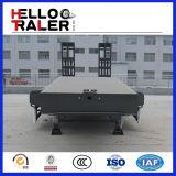 Tri-as Semi Aanhangwagen van het Bed van de Vervoerder van het Graafwerktuig van 50 Ton de Lage