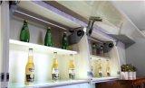 Gabinete de cozinha elevado da laca do lustro (zz-061)
