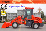 Er1500 Small Bucket Loader с Telescopic Boom