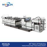 Máquina completamente automática de las hojas de Msfy-800b que lamina para el papel