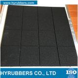 多彩な微粒のカーペットのスポーツのゴム製床タイル