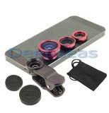 Teléfono móvil 3 en 1 lente del clip