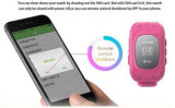 Children를 위한 Sos Panic Button GPS Tracking Watch
