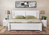 固体木のベッドの現代ダブル・ベッド(M-X2260)