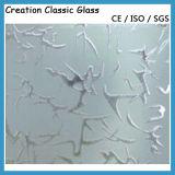 L'acido ha inciso il vetro modellato di vetro di /Frosted per il vetro dell'ufficio