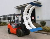 Gas 3500kg LPG-Doppelkraftstoff-Gabelstapler mit Papierrollenschelle