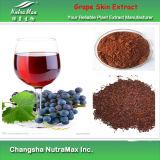 Extrait naturel d'usine de peau de raisin de 100% (5% Resveratrol/Polyphenols)
