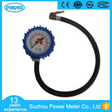 """indicateur de pression de pneu de 2.5 """" 63mm avec le boyau en caoutchouc"""