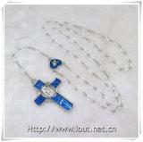 Наша повелительница Aparecida, цветастого креста и Rosary угловойых шариков Centerpiece (IO-cr368)