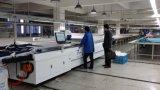 Tissu multi de couche coupant la machine de découpage droite de tissu de couteau de machine automatique