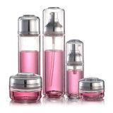 Produit de beauté transparent du plastique Pet/PETG Skincare de qualité empaquetant de petites bouteilles de jet