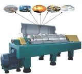 Lwnシリーズ泥の処置のための水平のデカンターの遠心分離機