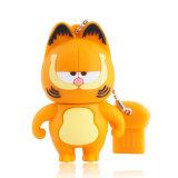 Lecteur flash de disque de la carte mémoire Memory Stick U du lecteur 4GB 8GB 16GB 32GB USB 2.0 de crayon lecteur de lecteur flash USB de Garfield de dessin animé