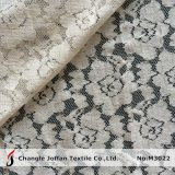 Textile Cotton Lace Fabric in Rolls (M3022)