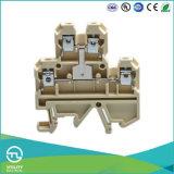 Conetor Jut2-4/2L de Utl bloco terminal de Inconnection de duas camadas