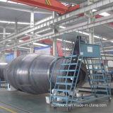 Máquina de soldadura de alumínio do depósito de gasolina do reboque