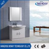 Просто пол - установленная ванная комната шкафа зеркала PVC угловойая
