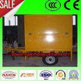 6000L/H Remorque-Type épurateur de pétrole sur place de transformateur de vide avec le certificat de la CE