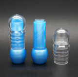 De dubbele Sferische Plastic Container van de Lippenpommade (NL20)