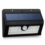 Indicatore luminoso senza fili solare multifunzionale di obbligazione del sensore di movimento dei 20 LED (RS2002)
