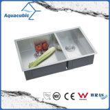 중국 최신 판매 스테인리스 인공 부엌 개수대 (ACS3119A2)