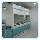 Capot en acier de vapeur de laboratoire utilisé par chimie en métal