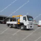 XCMG 10 toneladas del auge de la grúa de grúa montada carro telescópico hidráulico del cargo para la venta
