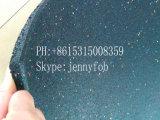 Estera de goma del suelo de la gimnasia, azulejo al aire libre del caucho del patio