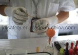 Gant de sûreté de travail avec l'enduit de nitriles de Sandy (N1558)