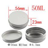50ml Kruik van de Room van het aluminium de Kosmetische (NAL0104)