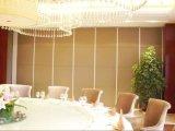 Alumínio que dobra a divisória de madeira e a parede de divisória móvel para o banquete Salão