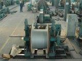 Fio de aço folheado de alumínio como no cilindro de madeira para o fio à terra de fibra óptica