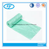 Особопрочный покрашенный пластичный мешок отброса погани на крене