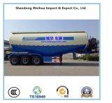 Acoplado a granel avanzado del carro de petrolero del cemento con alta calidad