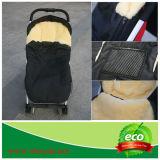 Piede-manicotto australiano di Warm Lamb Skin Baby di inverno sul passeggiatore Buggy