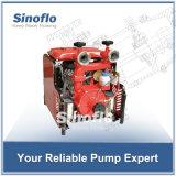 pompe à incendie auto-amorçante portative d'engine d'essence 38HP avec l'étape jumelle