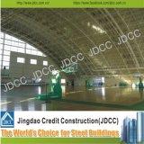 Construction de structure métallique de dôme de théâtres de stades de station de train