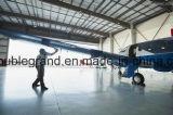 大きいプレハブの鉄骨構造の航空機の格納庫