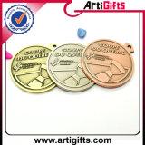 Medalla retra modificada para requisitos particulares del metal del diseño