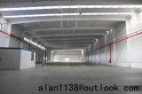 Prefabricated 건물에 있는 큰 경간 빛 강철 구조물 작업장