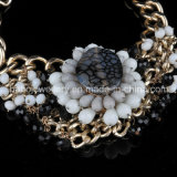 Pedra Beads Flower Fashion Jewelry (XJW13601)