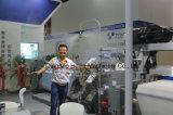 Luft-Strahlen-Webstuhl mit elektronischer Zufuhr und elektronischer Steuerung