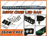 47inch 12V24V 260Wのクリー語LED Work Light Bar SUV 4X4 Truck Boat Marine Light